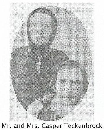 Mr. and Mrs.Casper Teckenbrock