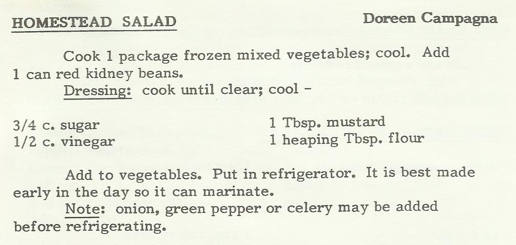 Homestead Salad