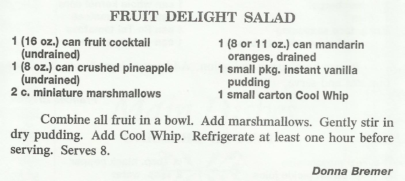 Fruit Delight Salad