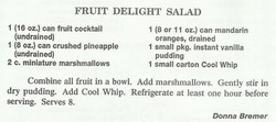 Fruit Delight Salad