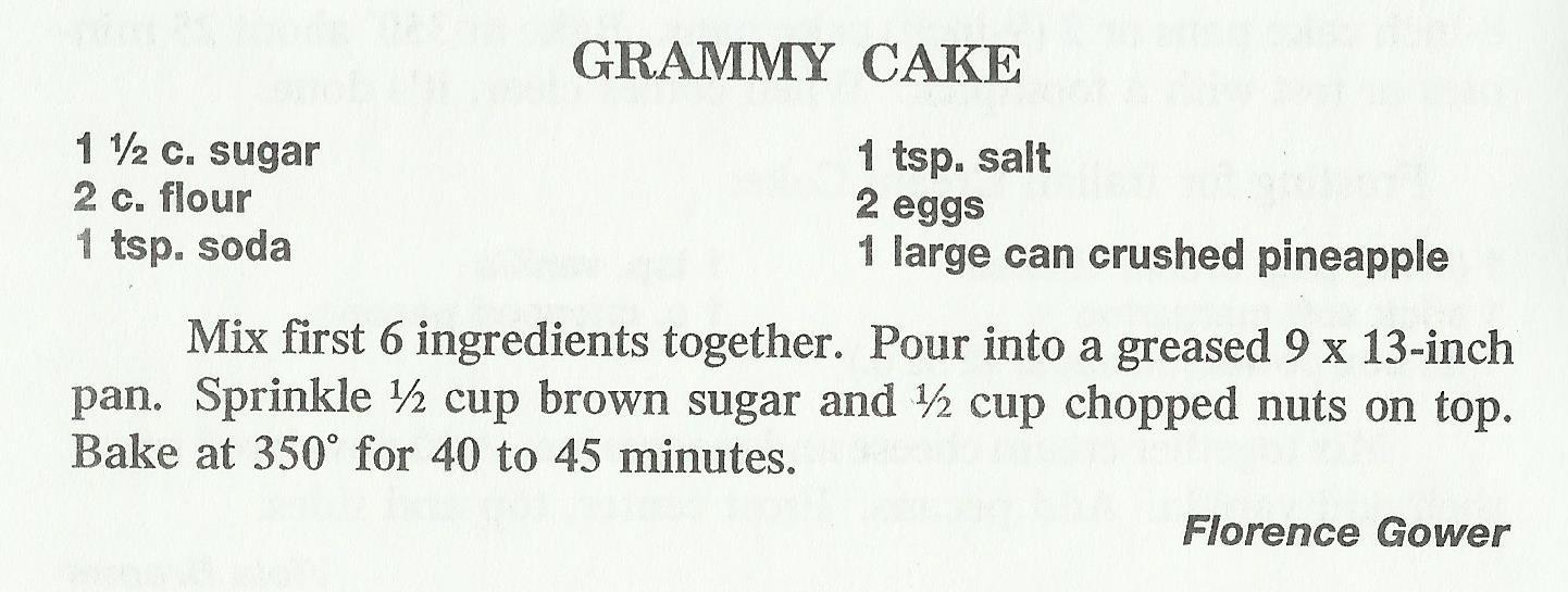Grammy Cake