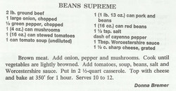 Beans Supreme