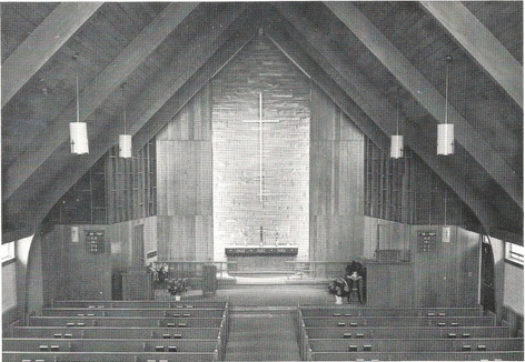 Inside of New Church After Completeion