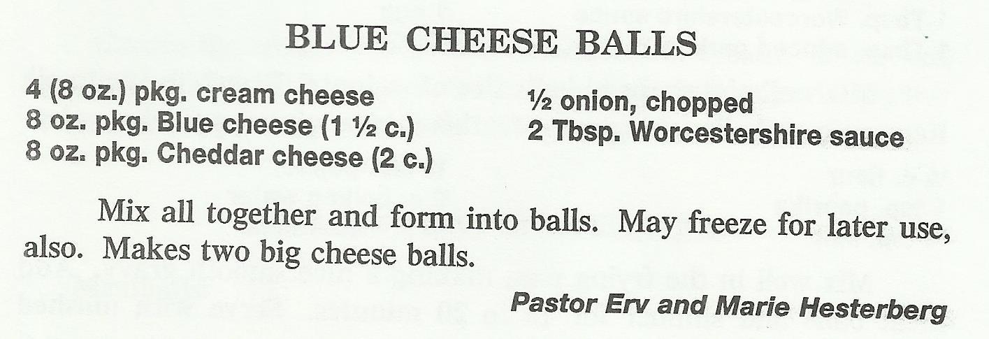 Blue Cheese Balls