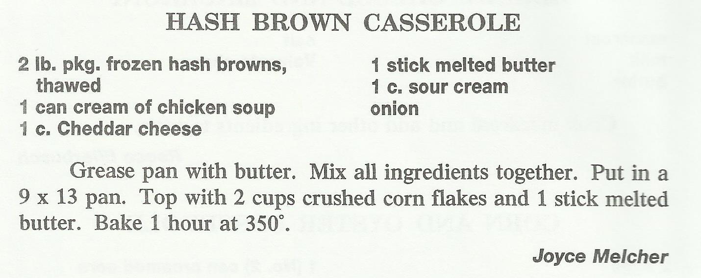 Hash Brown Casserole 2