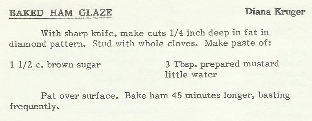 Baked Ham Glaze