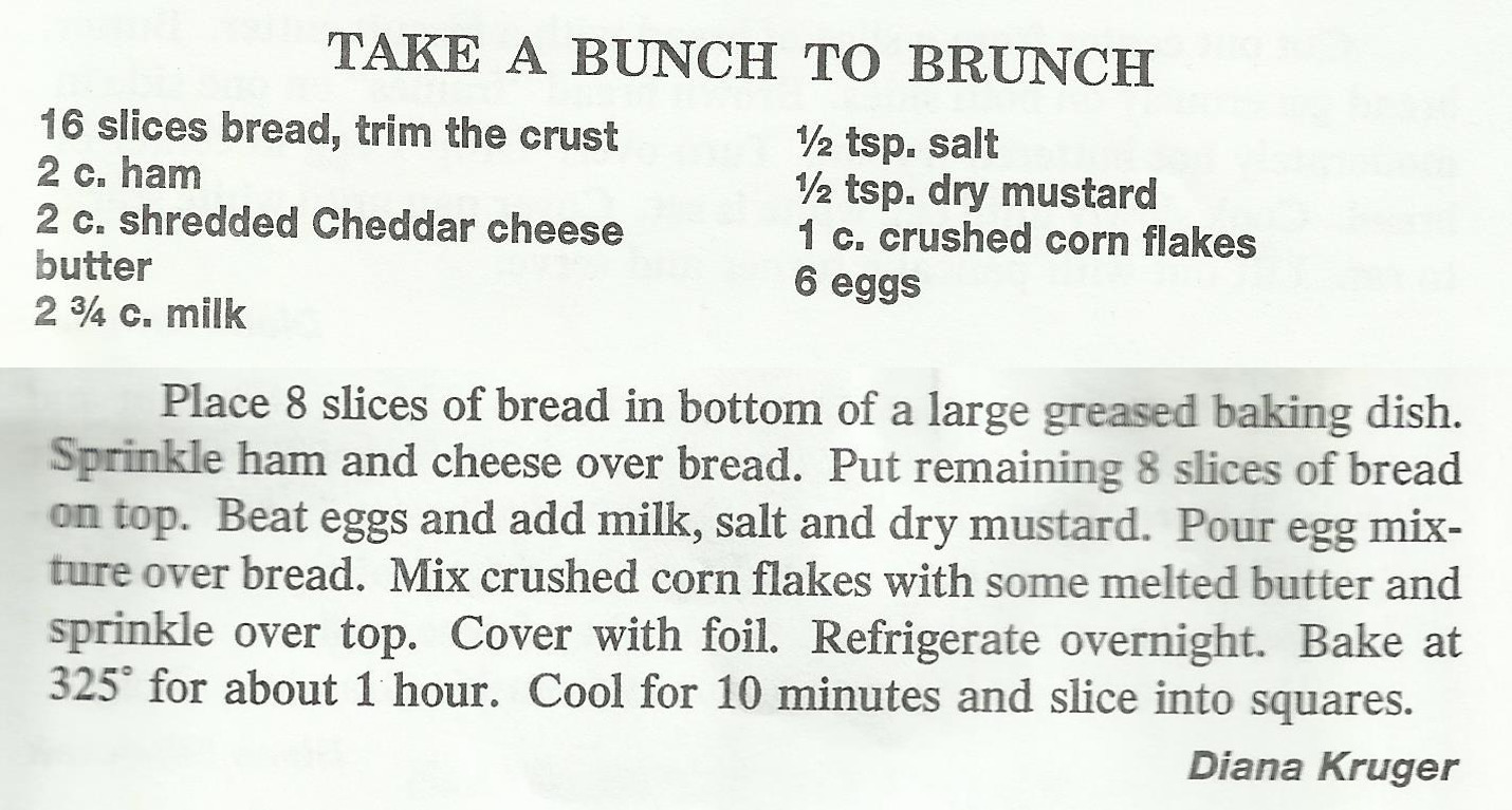 Take a Bunch to Brunch