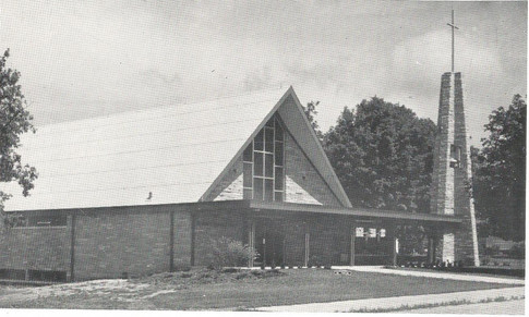 New Church Just After Completion