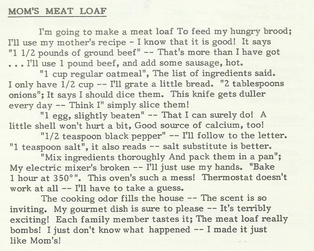 Mom's Meat Loaf