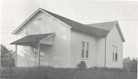 First Youth Center Building at St. John Lutheran Chrch Metropois, IL