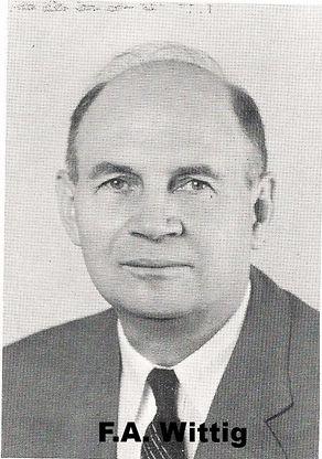 Pastor Frederick (Fritz) Alvin (F.A.) Wittig