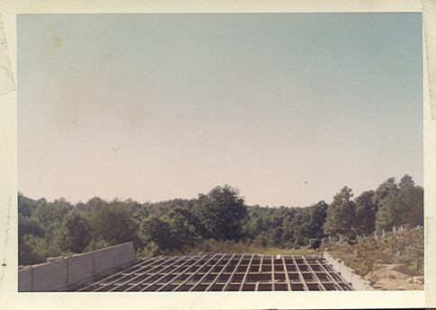 Starting to Build the New Church in 1961