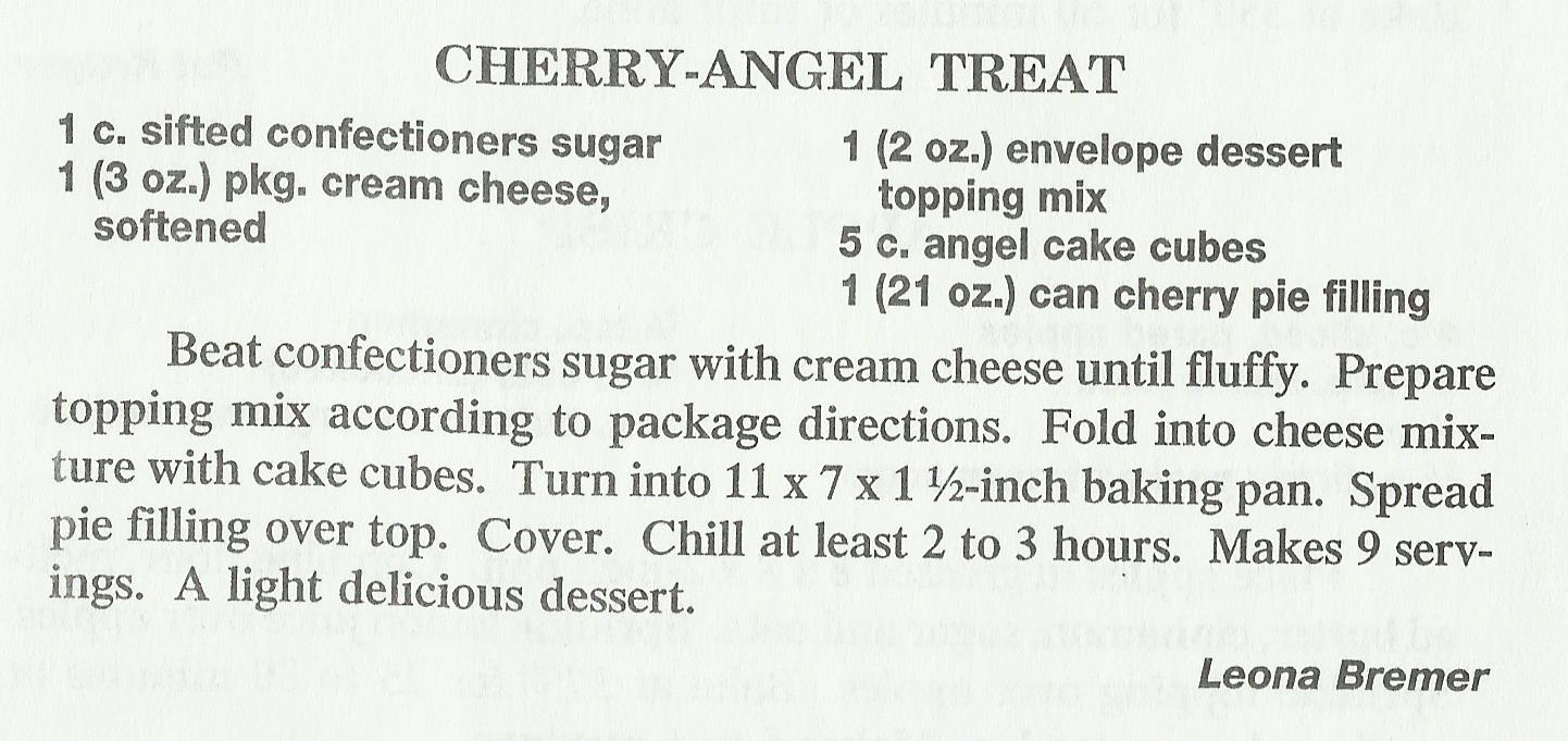 Cherry-Angel Treat