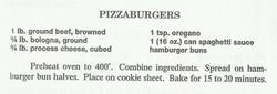 Pizzaburgers