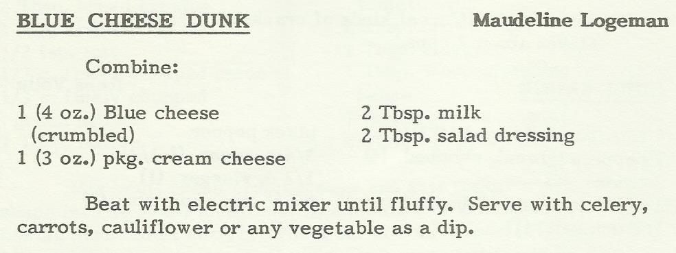 Blue Cheese Dunk