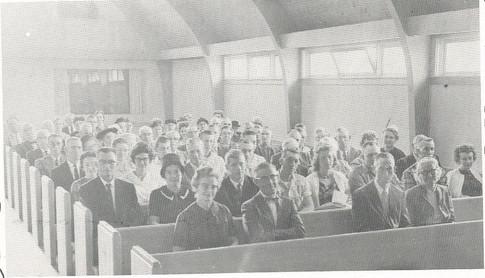 Adult Sunday School Class in New Church