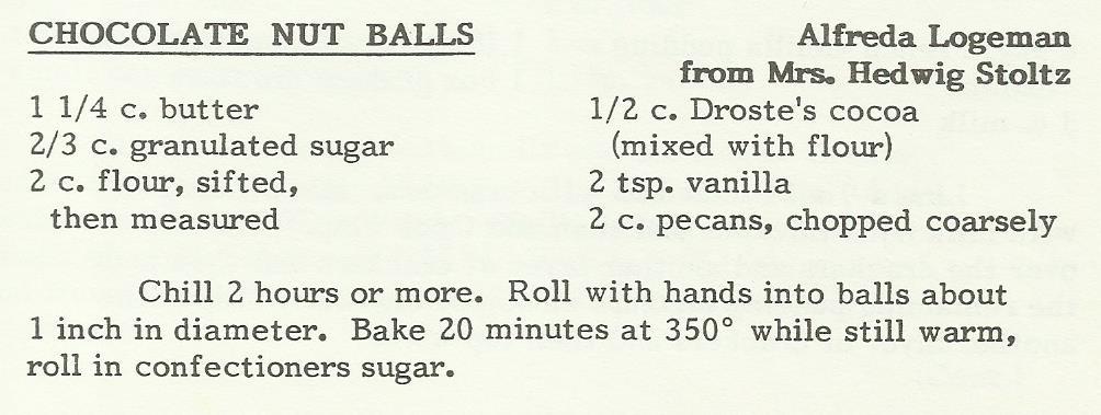 Cocolate Nut Balls