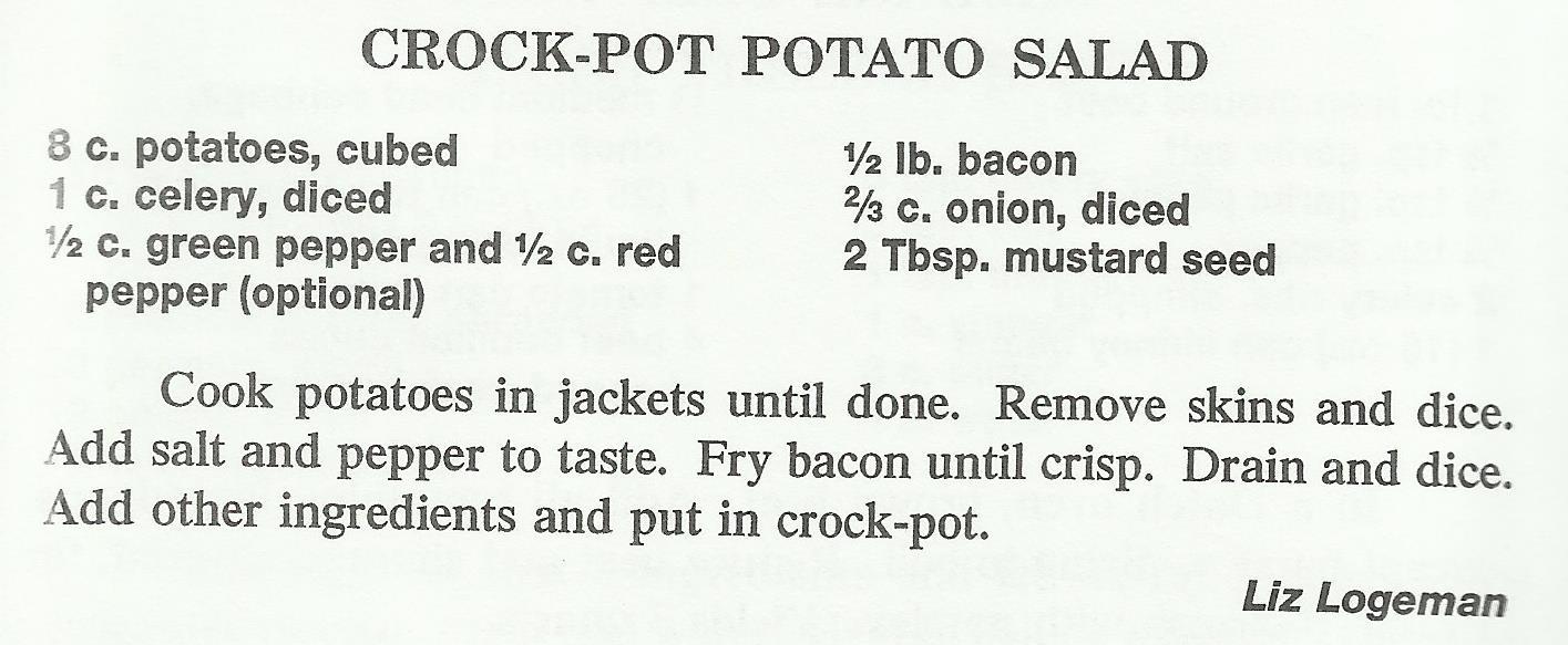 Crock-Pot Potato Salad
