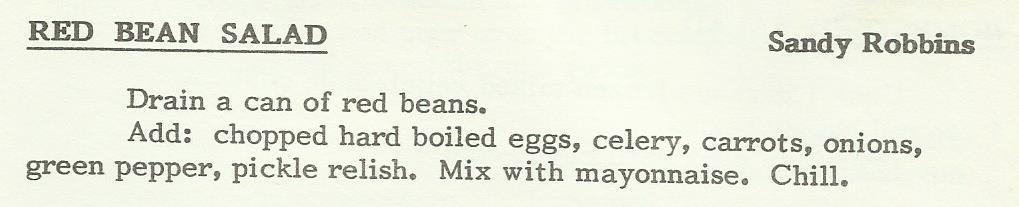 Red Bean Salad