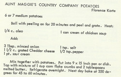 Aunt Maggie's Country Company Potatoes