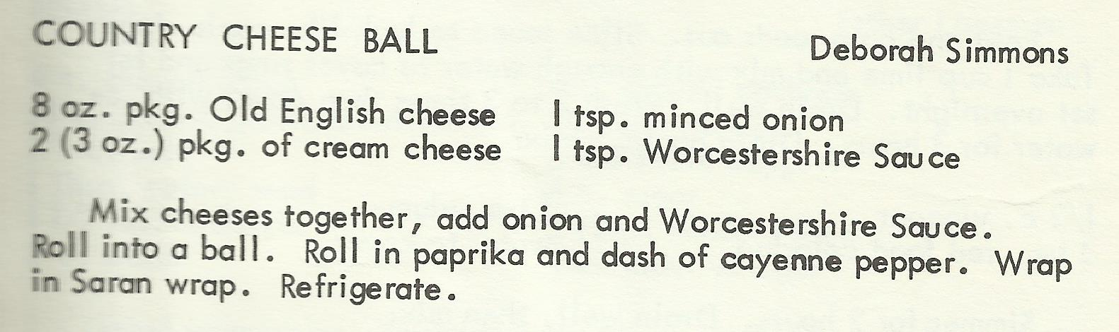 Country Cheese Ball
