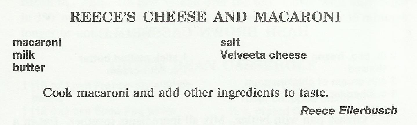 Reece's Cheese and Macaroni