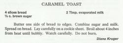 Caramel Toast
