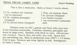 Texas Pecan Candy Cake