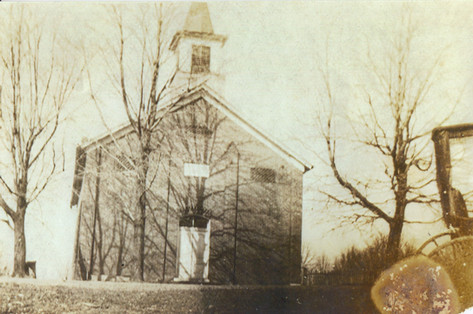 Front View of Old Brick Church