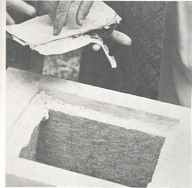 Historical Papers Being Taken Out of Corner Stone of Old Brick Church St. John Lutheran Church Metropolis, IL