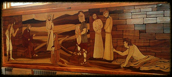Know My Suffering Mosaic at St. John Lutheran Church Metropolis, IL