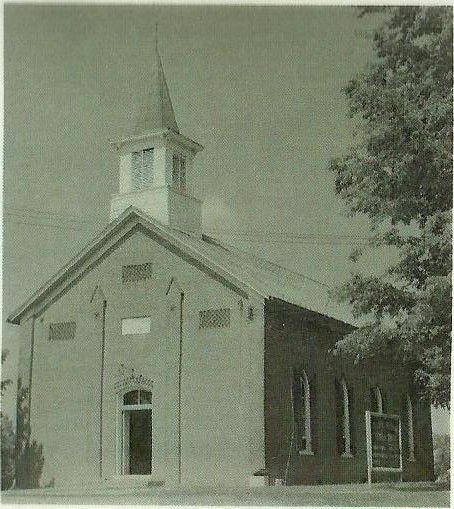 Second St. John Lutheran Church Metropolis, IL Building Brick Church