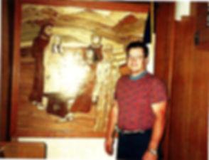 Pastor Daniel J. Diekhoff Creator of Mosaics in St. John Lutheran Church Metrpolis, IL