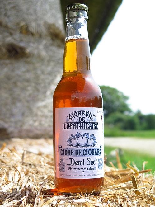 Cidre de Clohars - demi-sec 33cl