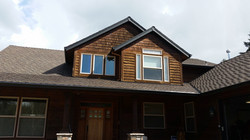Before Photo of Exterior Staining