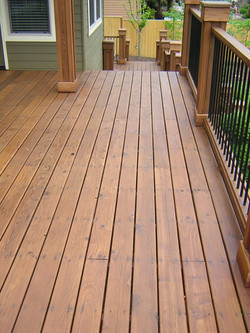 Residential Deck Staining