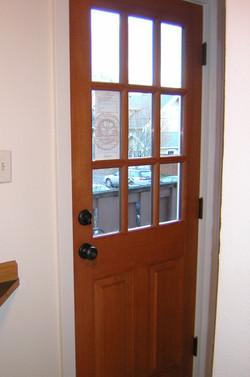 Residential Door Staining
