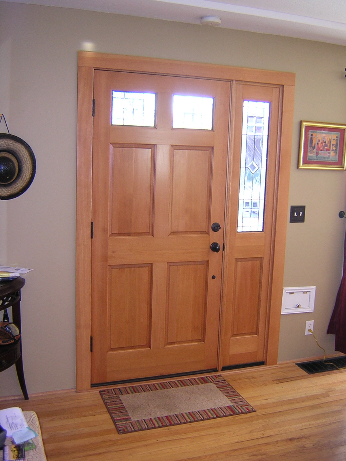 Residential Door Staining