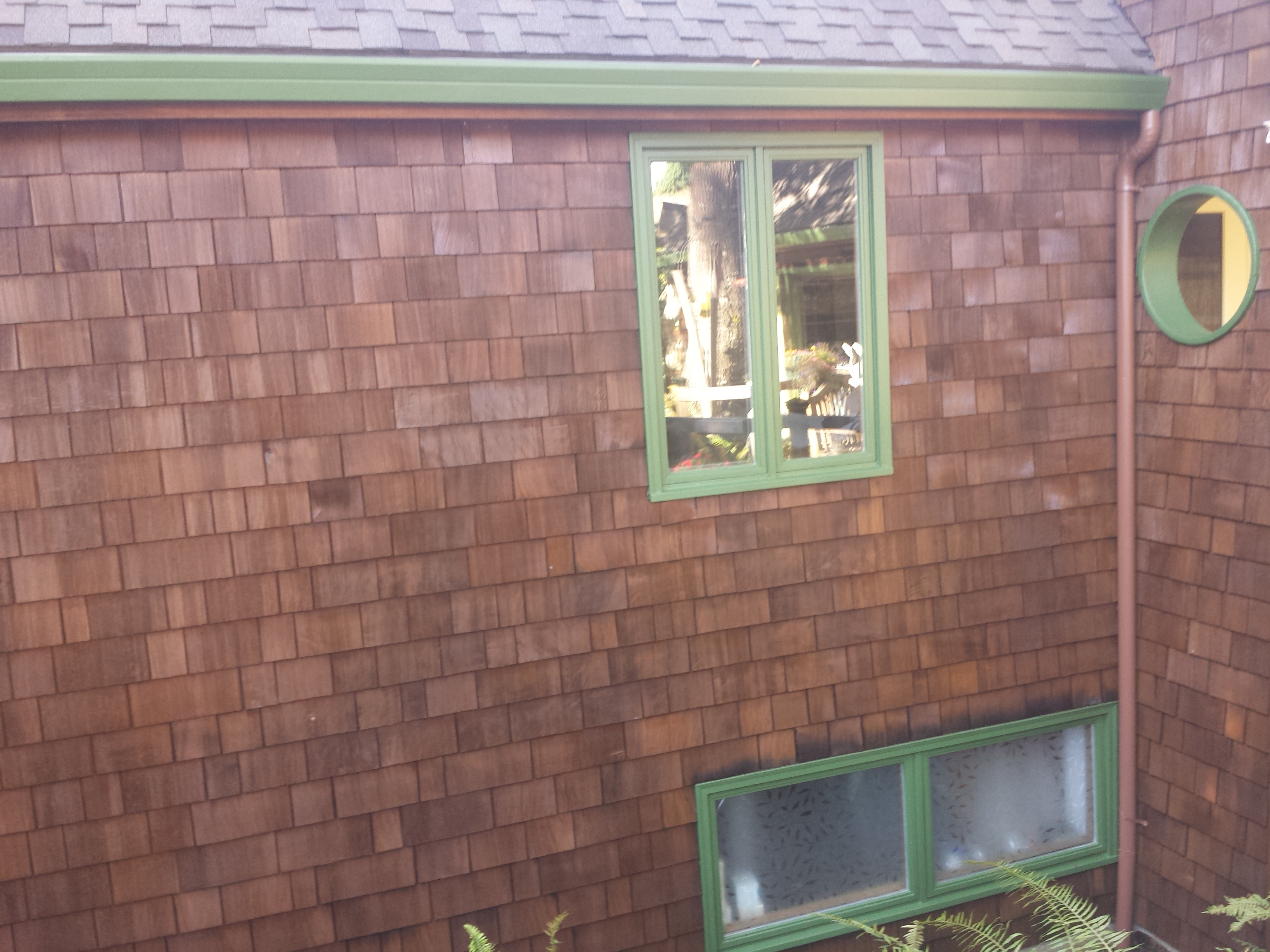Residential Exterior Staining