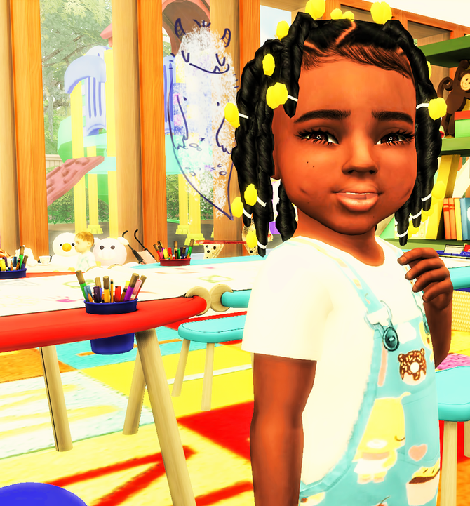 Ebonix | Sincerelyasimmer Twisted Pigtails