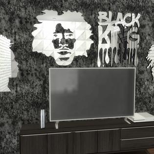Ebonix | 👑Black King Mirror Set 👑