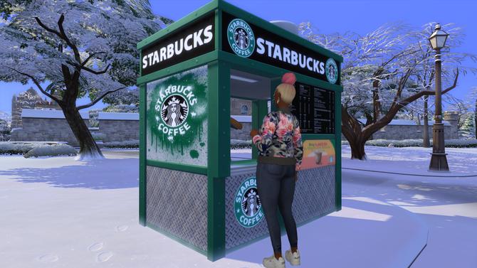 Ebonix | ☕ Starbucks on Campus ☕