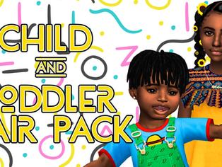 Ebonix | Child & Toddler Hair Pack