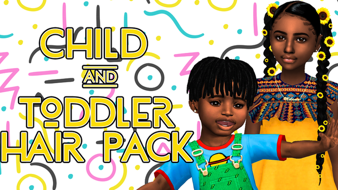 Ebonix | Child & Toddler Hair Pack