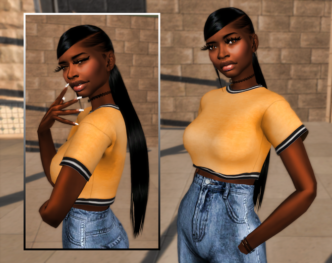 Ebonix | 💛 Noelle Hair 💛
