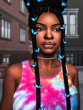 Ebonix | 🦋 Sammiyah Butterfly Bun 🦋