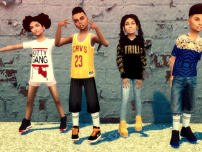 Ebonix | Urban Kidz Collection
