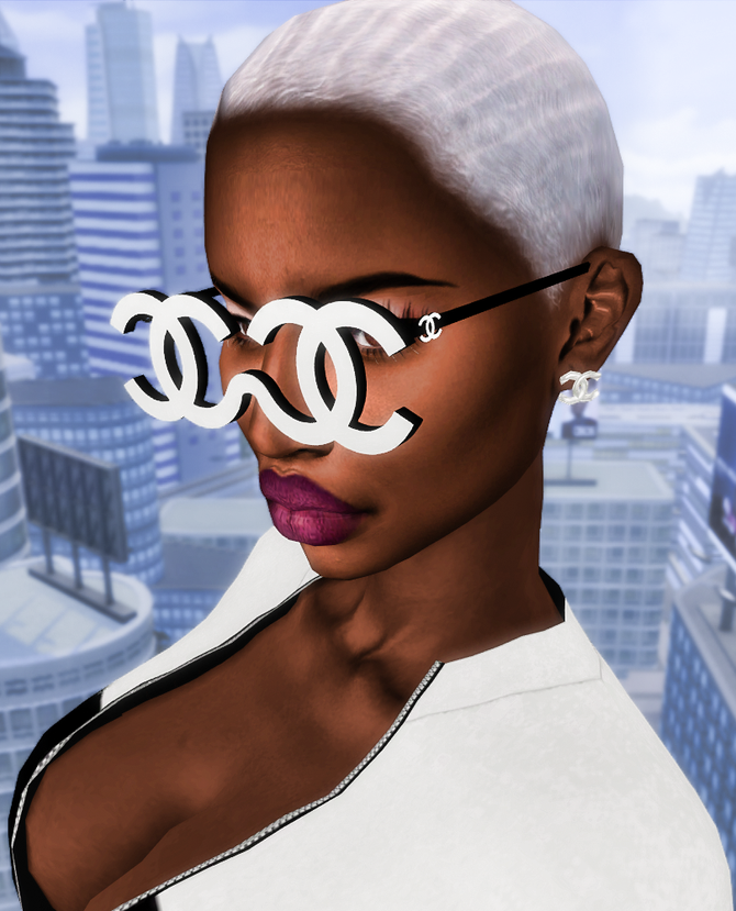 Ebonix | Chanel Boss Glasses