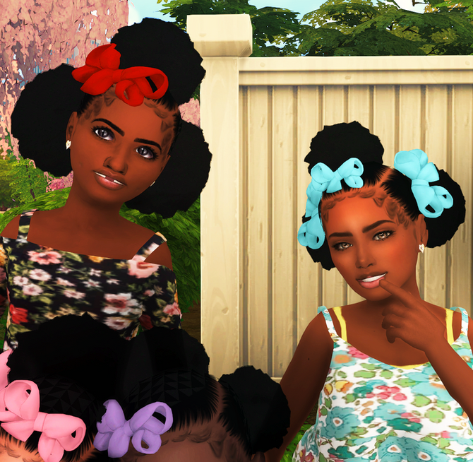 Ebonix | Kiddie Hair Pack