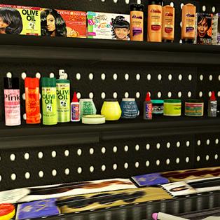 Ebonix | Ethnic Hair Care Clutter Redux